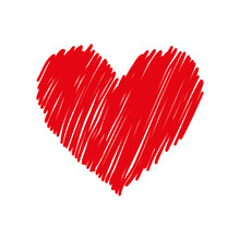 Heart And Love Icon Vector Ill...