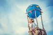 Leinwandbild Motiv Happy traveler
