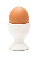 Egg In Ceramic Cup