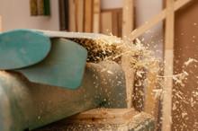 Pile Of Wood Sawdust