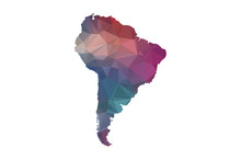 Low Poly South America