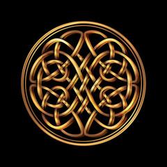 Panel Szklany Skandynawski Celtic folk ornament