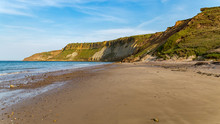 Cayton Bay, Near Scarborough, North Yorkshire, England, UK