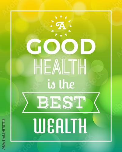typografia-quot-dobre-zdrowie-to-najlepsze-bogactwo-quot-z-tlem-bokeh-ilustr