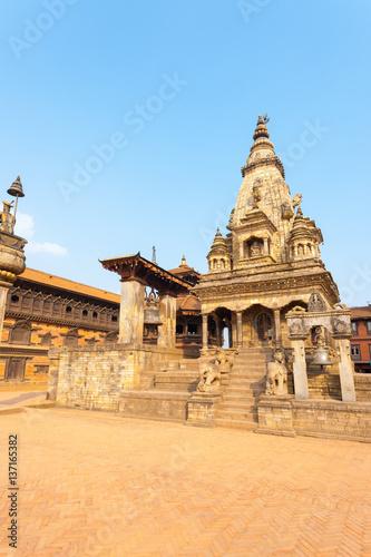 Foto op Canvas Florence Bhaktapur Durbar Square Vatsala Durga Temple