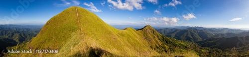 Foto auf Gartenposter Gebirge Beautiful View point landscape