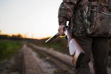 Hunter With Rifle