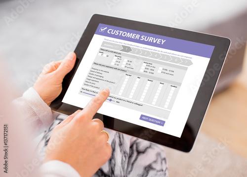 Fotografija Customer survey