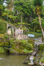 Monte Palace Tropican Garden. Funchal, Madeira Island, Portugal