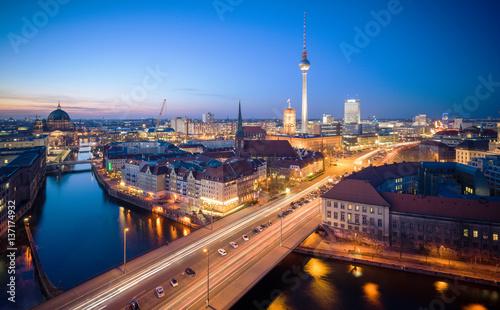 Zdjęcie XXL Panoramę Berlina