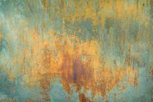 Texture Of Old Rusty Shabby Ba...