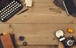 vintage desk header