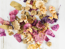 Dried Flowers Potpourri Scented Home Decorations