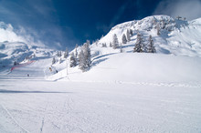 Ski Slope In Andalo/Paganella ...