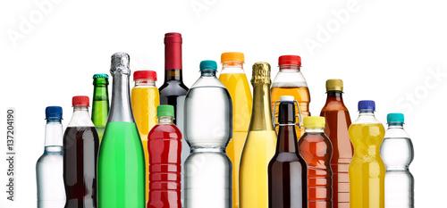 Fototapeta  Verschiedene Flaschen