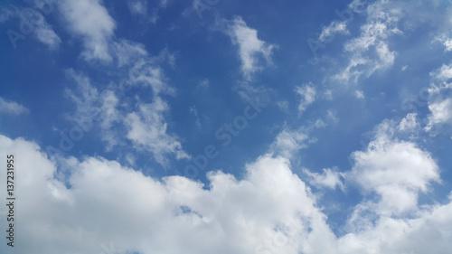 Fényképezés  Partly cloudy skies