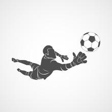Goalkeeper, Ball Icon