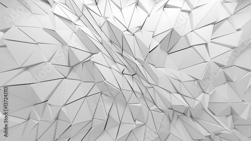 white-polygonal-triangle-geometric
