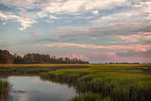 Salt Marsh Sunset,  Sapelo Is...