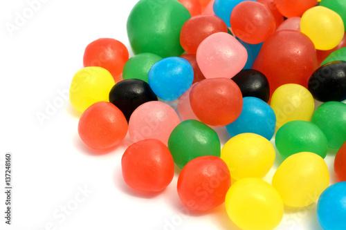 Fotografie, Obraz  bonbons couleurs