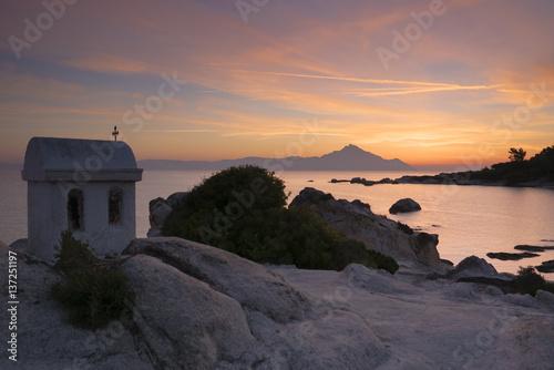 Fotografie, Obraz  Greek sunrise