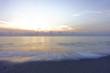 Sunrise, Nice atmosphere at the Sai Keaw beach in Nakhon Si Thammarat, Thailand, Asia