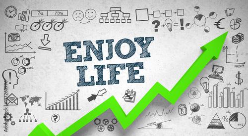 Enjoy life / Wall / Symbols