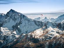 Parasailing At Davos, Graubund...