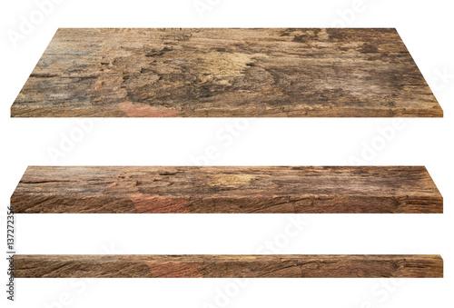 Fotografía  Wooden shelves