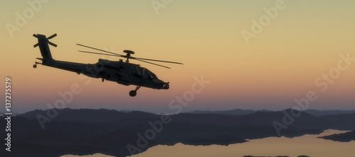 Canvas Prints Helicopter helicopter war