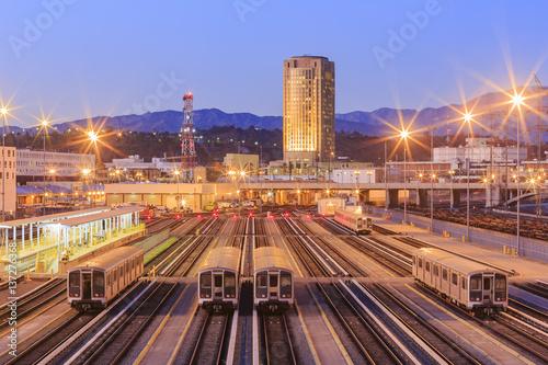 Keuken foto achterwand Los Angeles Metro of Los Angeles