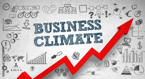 Business Climate / Wall / Symbols