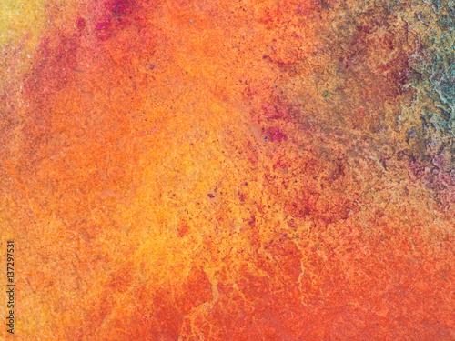 Plakat Kolor i tekstura ręcznie malowane akwarela na papierze