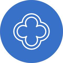 Quatrefoil Icon