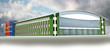 Спортивный легкоатлетический центр в Самаре.Объемная модель.