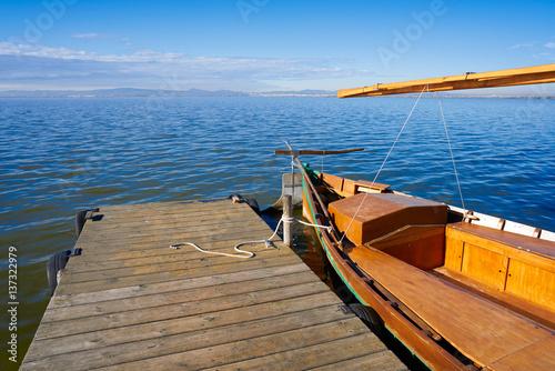 Fototapety, obrazy: Albufera of Valencia boats in the lake