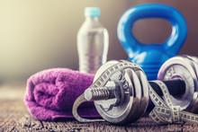 Fitness Equipment. Kettlebell ...