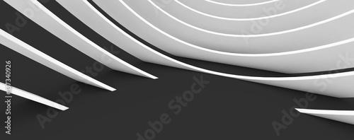 abstrakcyjny kształt jako futurystyczny wzór tła