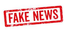 Roter Stempel - Fake News
