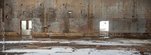 Papiers peints Les vieux bâtiments abandonnés factory