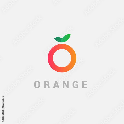Unusual vector logo in a modern style. - 137355976