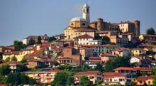 Blick Auf Das Malerische Asti Im Piemont