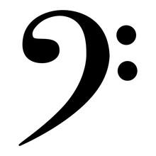 Bass Clef Symbol