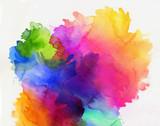 aquarell regenbogen abstrakt verlauf - 137395348