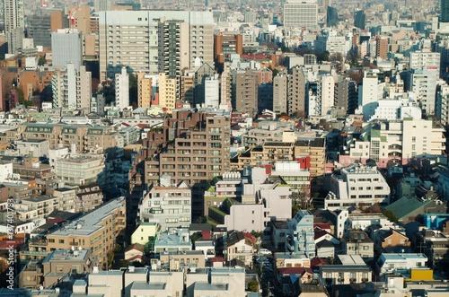 Fotografía  大都市の住宅地