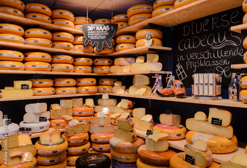 Obraz Cheese Shop Leeuwarden Netherlands - fototapety do salonu