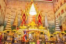 Statue Of Phra Sai In Wat Pho Chai, Nong Khai Province, Thailand