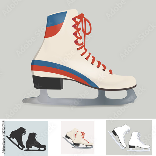 61572ad6d Retro ice skates - Compre este vetor e explore vetores semelhantes ...