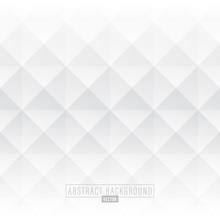 White Abstract Diamond Background