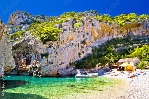 Fotografie, Obraz  Amazing Stinva beach of Vis island